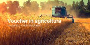 voucher agricoltura